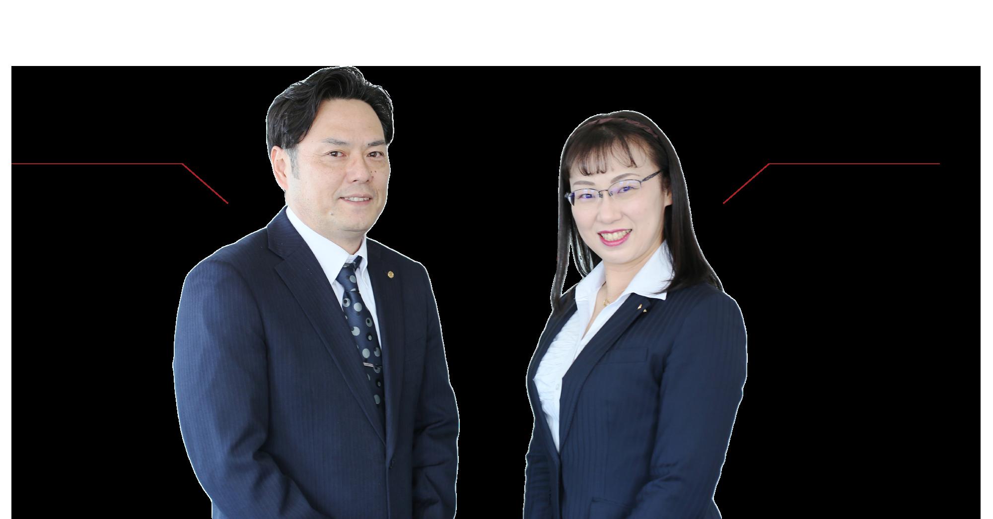 株式会社マスナリ代表取締役会長 市岡 佳子 / 取締役社長 砂原 亮雄